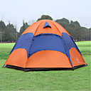 cheap Tents, Canopies & Shelters-Sheng yuan 5 person Screen Tent Double Layered Poled Dome Camping Tent Outdoor Anti-Insect, Breathability, Oversized for Hiking / Camping 1500-2000 mm Polyester, Oxford 240*240*135 cm