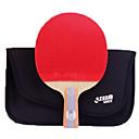 זול שולחן טניס-DHS® R6006-R6007 Ping Pang/מחבטי טניס שולחן עץ גוּמִי 6 כוכבים ידית קצרה פצעונים