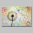 cheap Floral/Botanical Paintings-Oil Painting Hand Painted - Pop Art Floral / Botanical Modern Canvas