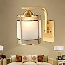 זול פמוטי קיר-מנורות קיר סלון / חדר שינה מתכת אור קיר 220-240V 40W
