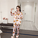 cheap Brooches-Women's Suits Pajamas-Print,Floral