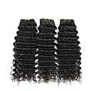 זול תוספות שיער בגוון טבעי-3 חבילות שיער ברזיאלי גלי שיער אנושי הארכה / תוספות שיער משיער אנושי שוזרת שיער אנושי extention תוספות שיער אדם