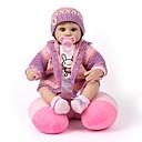 tanie Lalki-NPK DOLL Lalki Reborn Dziewczynki 18 in Silikon Winyl - Noworodek Jak żywy Śłodkie Wyrób ręczny Bezpieczne dla dziecka Nowy design Dzieciak Unisex / Dla dziewczynek Zabawki Prezent / Dyskietka
