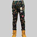 cheap Boys' Pants-Boys' Daily Print Pants, Rayon Spring Fall Casual Green