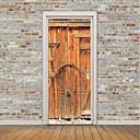 tanie Naklejki ścienne-Naklejki na drzwi - Naklejki ścienne lotnicze / Naklejki ścienne 3D Kształty / 3D Domowy / Biuro / Możliwość zmiany miejsca