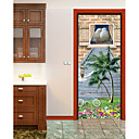 abordables Adhesivos de Pared-Animales Floral/Botánico Pegatinas de pared Calcomanías 3D para Pared Pegatinas de pared de animales Calcomanías Decorativas de Pared