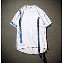 preiswerte Herren Freizeitschuhe-Herrn Einfarbig T-shirt, Rundhalsausschnitt