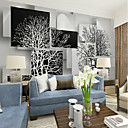 cheap Wall Stickers-Art Deco Pattern 3D Home Decoration Vintage Modern Wall Covering, Canvas Material Adhesive required Mural, Room Wallcovering