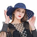 levne Ozdoby do vlasů na večírek-Dámské Roztomilý Krajka Sluneční klobouk - Jednobarevné Krajka