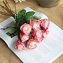 رخيصةأون زهور اصطناعية-زهور اصطناعية 5 فرع زهري / أسلوب بسيط الورود أزهار الطاولة