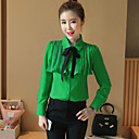 cheap RC Parts & Accessories-Women's Classic & Timeless Shirt - Solid Color Modern Style Shirt Collar / Spring / Fall / Lace up