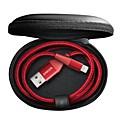 זול מטען כבלים ומתאמים-תאורה נייד / תשלום מהיר iPhone ל 180 cm עבור פלסטיק / ניילון
