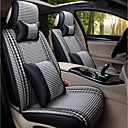cheap Car Air Purifiers-Car Seat Covers Headrest & Waist Cushion Kits Textile PU Leather For universal All years All Models