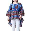 זול סטים של ביגוד לבנות-בנות מכנסיים - גיאומטרי דפוס פול / חמוד / פעוטות