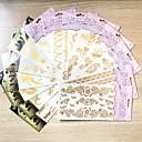 hesapli dövme çıkartma-10 pcs Dövme Etiketleri geçici Dövme Totem Serisi / Çiçek Serisi / Mücevher Serileri Su Geçirmez body Art Vücut / eller / kol