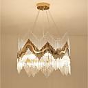 tanie LED Grow Lights-QIHengZhaoMing 8 świateł Ozdoby kryształowe Żyrandol Światło rozproszone - Kryształ, Ochrona oczu, 110-120V / 220-240V Żarówka w zestawie / 15-20 ㎡