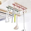billige Festhovedtøj-1set Reoler og Holdere Plastik Kreativ Køkkengadget Køkkenorganisation