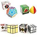 billige Skateboarding-Rubiks kube 4 stk Shengshou 7182A-1 7172A-2 7097A-1 7099A-4 Alien 2*2*2 3*3*3 Glatt Hastighetskube Magiske kuber Kubisk Puslespill Glatt klistremerke 4 i 1 Barne Voksne Leketøy Unisex Gutt Jente Gave