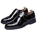 זול מגפיים לגברים-בגדי ריקוד גברים PU אביב / סתיו נוחות נעלי אוקספורד זהב / שחור