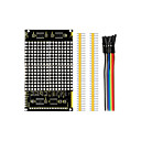 billige Moduler-ledd dot matrix displaymodul 16 * 16 ubegrenset cascading / 12864 kompatible grensesnitt for arduino