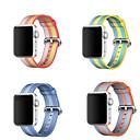 رخيصةأون الاكسسوارات ساعة ذكية-حزام إلى Apple Watch Series 4/3/2/1 Apple عصابة الرياضة نايلون شريط المعصم
