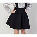 זול מכנסיים וטייץ לבנות-אחיד הילדה של יומי פוליאסטר קיץ שמלה שחור