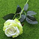 hesapli Suni Çiçek-Yapay Çiçekler 2 şube Avrupa Tipi / Pastoral Stil Güller Masaüstü Çiçeği