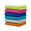cheap Yoga Towels-Cooling Towel Odor Free, Eco-friendly, Soft, Non Toxic, Breathable, Multi-purpose Microfiber For Yoga / Pilates / Bikram Pink, Navy, Grey