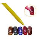 رخيصةأون أدوات أخرى-5 أداة مسمار الفن أدوات الأظافر DIY أدوات طلاء الأظافر ظل متعدد فن الأظافر تجميل الأظافر والقدمين نيون ومضئ يوميا