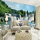 cheap Wall Murals-Botanical Art Deco 3D Home Decoration Classic Vintage Wall Covering, Canvas Material Adhesive required Mural, Room Wallcovering