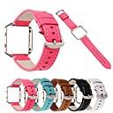tanie Inteligentny zegarek Akcesoria-Watch Band na Fitbit Blaze Fitbit Bransoletka skórzana Prawdziwa skóra Opaska na nadgarstek