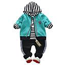 ieftine Hanorace Băieți & Tricouri-Copii Băieți Dungi Manșon Lung Set Îmbrăcăminte