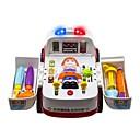 baratos Carros de brinquedo-2-in-1 Ambulance Doctor Vehicle Set Carros de Brinquedo Ambulância Veículos Interação pai-filho Plástico ABS de Grau A Crianças Dom