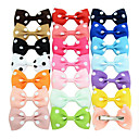 cheap Hair Accessories-Clips Hair Accessories Grosgrain Wigs Accessories Women's 20pcs pcs 1-4inch cm Party Daily Stylish Cute