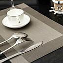 tanie Podkładki stołowe-Współczesny Plastikowy Kwadrat Podkładki Jendolity kolor Dekoracje stołowe 1 pcs