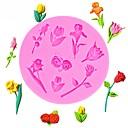 זול תבניות לעוגות-ורדים, יום, ורדים, פרחים, בצורת, fondant, סיליקון, עוגה, עובש