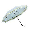 baratos Guarda-Chuva/Sombrinha-boy® Tecido Todos Ensolarado e chuvoso / Prova-de-Vento / novo Guarda-Chuva Dobrável