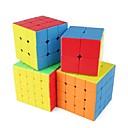 billige Rubiks kuber-Rubiks terning 1 Stk. Shengshou D0934 Rainbow Cube 5*5*5 / 4*4*4 / 3*3*3 Let Glidende Speedcube Magiske terninger Puslespil Terning