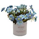 رخيصةأون زهور اصطناعية-زهور اصطناعية 1 فرع أوروبي / النمط الرعوي الإقحوانات أزهار الطاولة