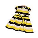 tanie Zestawy ubrań dla dziewczynek-Brzdąc Dla dziewczynek Podstawowy Prążki Krótki rękaw Sukienka