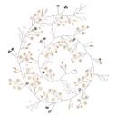 abordables Bijoux de Cheveux-Imitation de perle / Fil de cuivre Outil de cheveux avec Perle fausse / Détail Cristal 1pc Mariage Casque