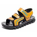 baratos Sapatos de Bebês-Para Meninos / Para Meninas Sapatos Couro Ecológico Verão Conforto Sandálias para Crianças Preto / Azul Escuro / Amarelo