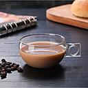 abordables Tazas-Vasos Vaso de boro alto Tazas de Té / Vidrio / Tazas de Café Portátil / Don novio / Regalo novia 1 pcs