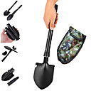 cheap Camp Kitchen-Shovels Military Portable Foldable Emergency Small Size Rustless Iron Camping / Hiking / Caving Black 1 pcs