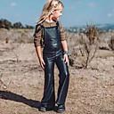 billige Bukser og leggings til piger-Børn Pige Ensfarvet Uden ærmer Overall og jumpsuit