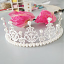 cheap Party Headpieces-Imitation Pearl / Alloy Tiaras with Faux Pearl / Crystals / Rhinestones 1pc Wedding / Special Occasion Headpiece