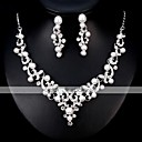 cheap Jewelry Sets-Women's Jewelry Set - European, Fashion Include Silver For Wedding / Daily