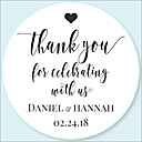 cheap Candle Favors-Floral / Botanicals Stickers, Labels & Tags - 48pcs Circular Stickers Envelope Sticker All Seasons