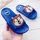 זול נעלי ילדים-בנים / בנות נעליים עור PVC קיץ נוחות כפכפים & כפכפים הדפס חיות ל כחול / ורוד