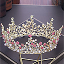 cheap Party Headpieces-Alloy Tiaras with Rhinestone / Faux Pearl 1pc Wedding / Party / Evening Headpiece